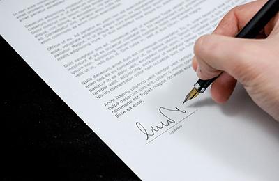 podpisanie